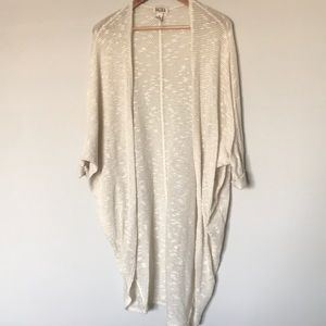 {mudd} Cream Cardigan